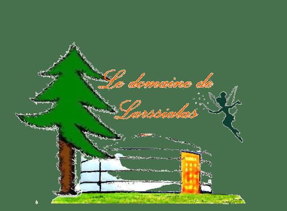 Les yourtes de Larssialas Logo